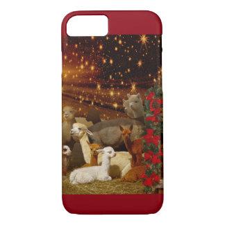 アルパカのクリスマスのiPhone 7つのケース iPhone 8/7ケース