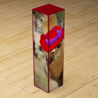 アルパカのワイン用化粧箱 ワインギフトボックス