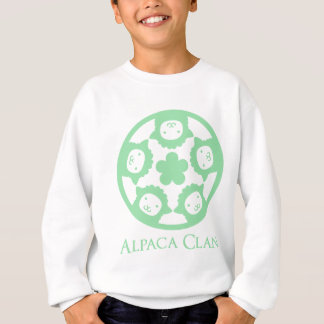 アルパカの一族 スウェットシャツ