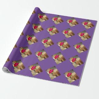 アルパカの包装紙 ラッピングペーパー