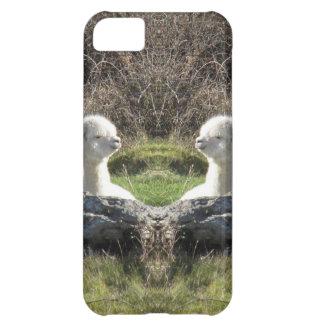 アルパカの鏡 iPhone5Cケース