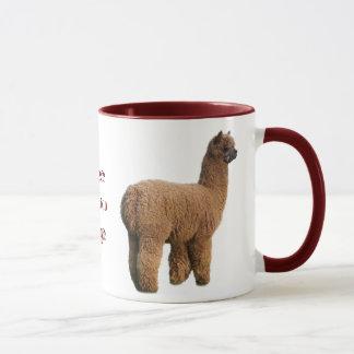 アルパカの魔法のマグ マグカップ