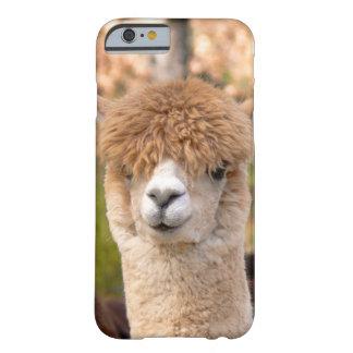 アルパカのiPhone6ケースの美女 Barely There iPhone 6 ケース