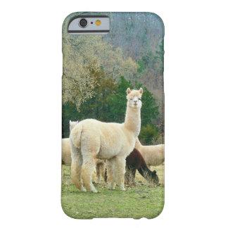 アルパカのiPhone6ケース Barely There iPhone 6 ケース