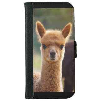 アルパカのiPhone 6のウォレットケース iPhone 6/6s ウォレットケース