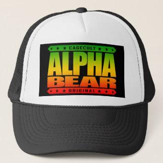 アルファくま-毛深い人は世界のミーム、ラスタを支配します キャップ