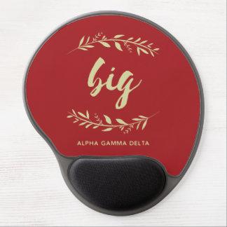 アルファガンマのデルタの大きいリース ジェルマウスパッド