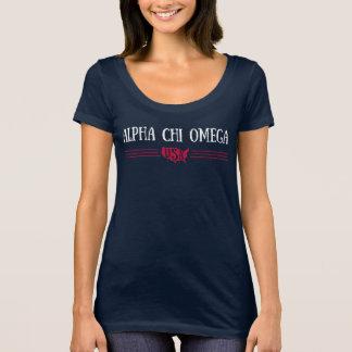 アルファキーオメガ-米国 Tシャツ