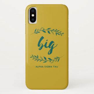 アルファシグマTauの大きいリース iPhone X ケース