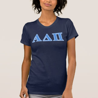 アルファデルタPiの淡いブルーの手紙 Tシャツ
