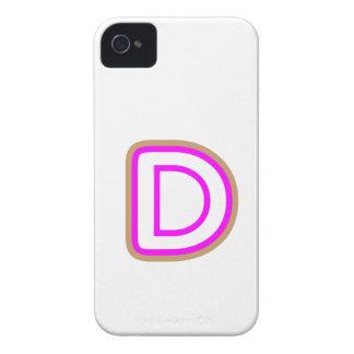 アルファベットのDDD ALPHAD iPhone 4 Case-Mate ケース
