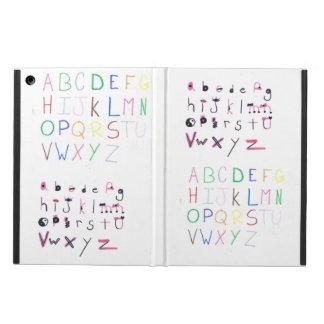 アルファベットカバー iPad AIRケース