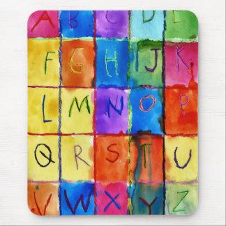 アルファベット マウスパッド