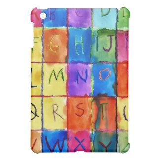 アルファベット iPad MINIカバー