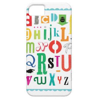 アルファベット! iPhone SE/5/5s ケース