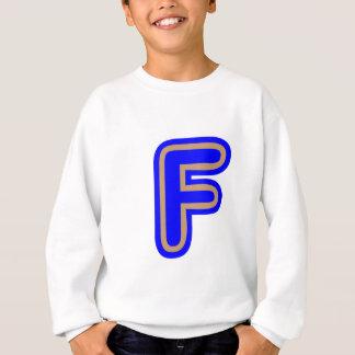 アルファベットALPHAF FFF スウェットシャツ