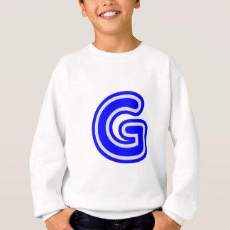 アルファベットALPHAG GGG スウェットシャツ