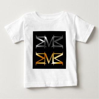 アルファベットM ベビーTシャツ