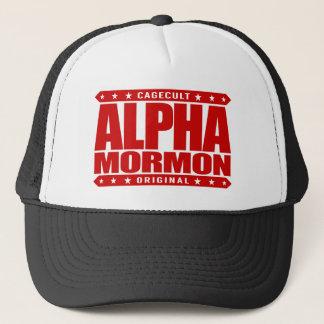 アルファモルモン教徒-赤い近代の聖者の教会 キャップ