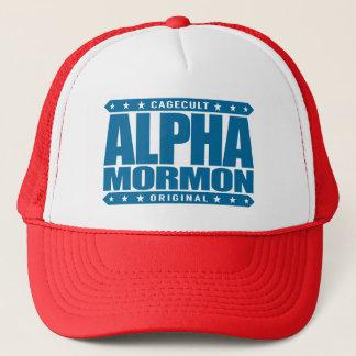 アルファモルモン教徒-青い近代の聖者の教会 キャップ