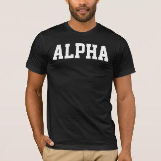 アルファ人のワイシャツ Tシャツ