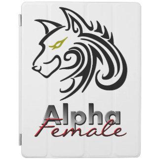 アルファ女性のiPadカバー iPadスマートカバー