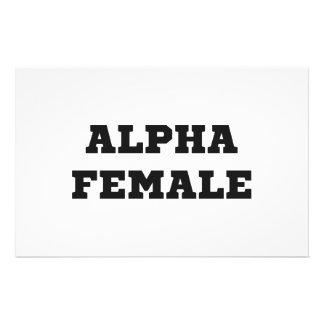 アルファ女性 便箋
