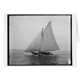 アルファ航行のヨット1892年 カード