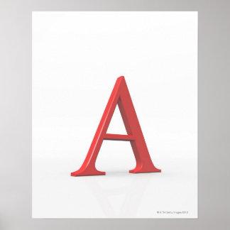 アルファ ポスター