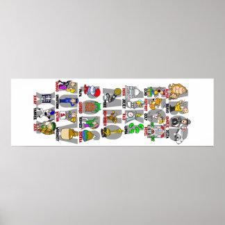 アルファBravo (音声NATO)アルファベットポスター ポスター
