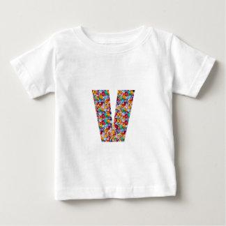 アルファVVV PPP RRR QQQのファッションのギフトの宝石のおもしろいID ベビーTシャツ
