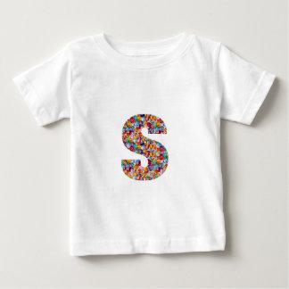 アルファWWW mmmのnnnのsssのギフトは宝石のおもしろいW Mを作ります ベビーTシャツ