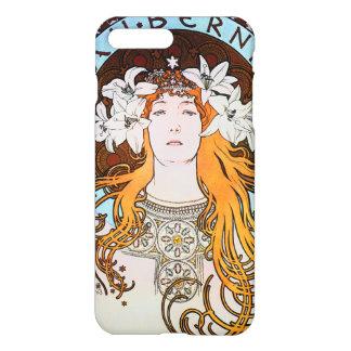 アルフォンス島のミュシャのサラ・ベルナールのヴィンテージアールヌーボー iPhone 8 PLUS/7 PLUSケース