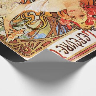 アルフォンス島のミュシャのビスケットのLefevre Utile Wrapngの紙 包み紙