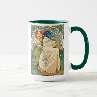 アルフォンス島のミュシャのプリンセスのHyacinthのマグ マグカップ