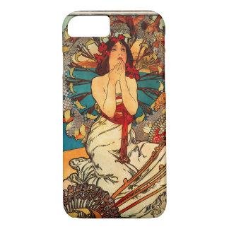 アルフォンス島のミュシャのモンテカルロのiPhone 7の場合 iPhone 8/7ケース