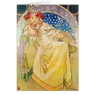 アルフォンス島のミュシャの女神 カード