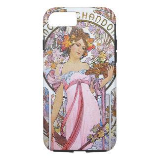 アルフォンス島のミュシャ。 シャンペン広告、1899. iPhone 8/7ケース