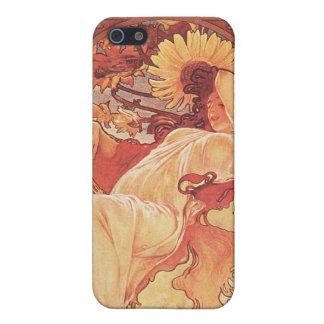 アルフォンス島のミュシャ、Chocolat Mexicain 1896年 iPhone 5 Case