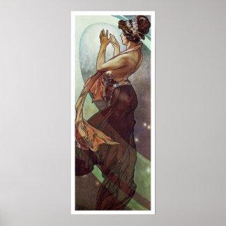 アルフォンス島のミュシャ。 L 「Etoile Polaireかポーランド人Star 1902年 ポスター