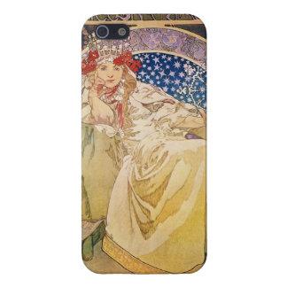 アルフォンス島のミュシャ。 Princezna Hyacinta 1911年 iPhone 5 Cover