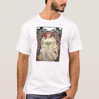 アルフォンス・ミュシャの幻想1897年 Tシャツ