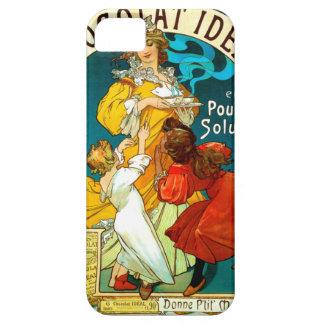 アルフォンス・ミュシャChocolat Idéalの子供の絵 iPhone SE/5/5s ケース