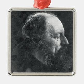 アルフレッドのTennyson (1809-92年の) c.1868 (卵白pr主 メタルオーナメント