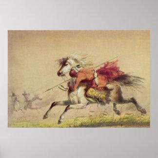 アルフレッドヤコブミラー著青海原の入り江の戦い ポスター