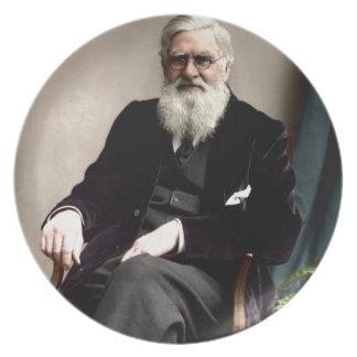 アルフレッドラッセルウォーレスc1895 プレート