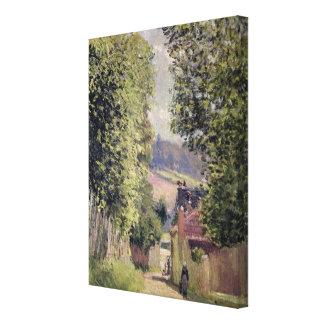 アルフレッド・シスレー| Louveciennesの道 キャンバスプリント