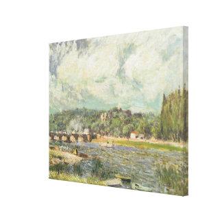 アルフレッド・シスレー| Sevresの橋 キャンバスプリント
