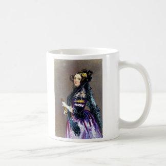 アルフレッドChalon著LovelaceのCountess Ada王 コーヒーマグカップ