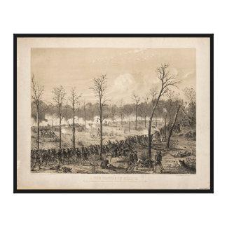 アルフレッドE. Mathews (1862年)著Shilohの戦い キャンバスプリント